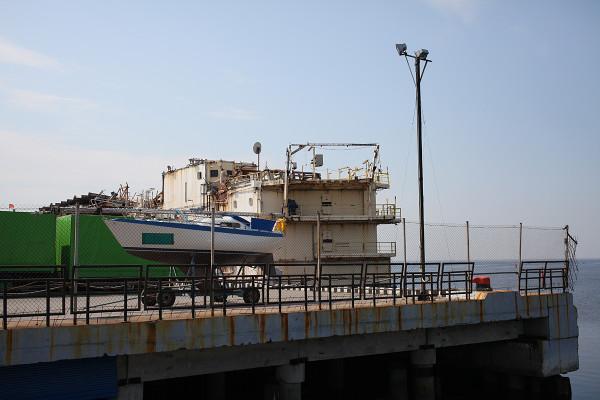 Яхта прибыла в Санкт-Петербург