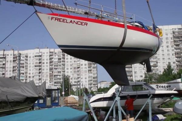Freelancer: Спуск яхты на воду